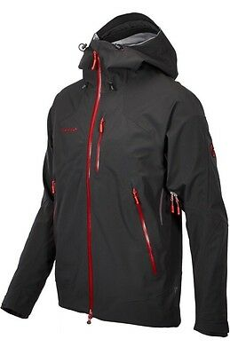 Mammut Masao Jacket Men's Waterproof Hard Shell, UK large, New With Tags