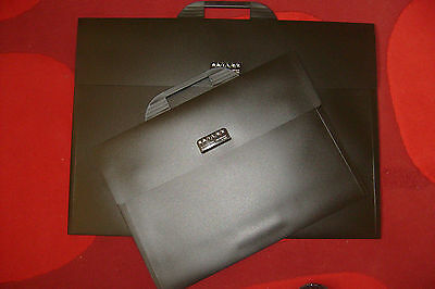 A2 and A3 Black Carry Cases Portfolio - Flat Art Storage Folder