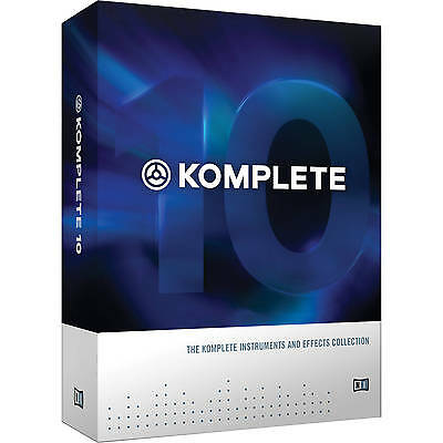 KOMPLETE 10 Crossgrade _Licence Transfer/Download _Native Instruments