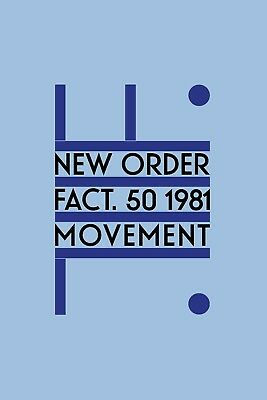 "New Order MOVEMENT Poster High Quality Archival Matte Print 20"" x 30"""