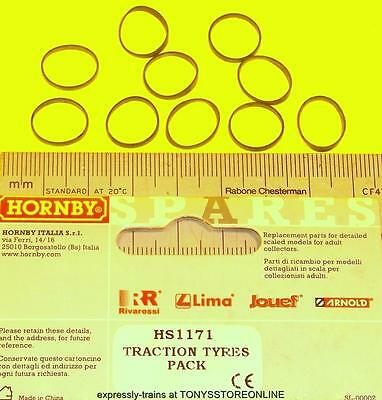 hornby international ho spare hs1171 1x pack traction tyres11mm approx hr2010/11