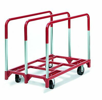 "Raymond 3826 Steel Panel Mover with 3 Standard Upright and 6"" x 2"" Phenolic Cast"