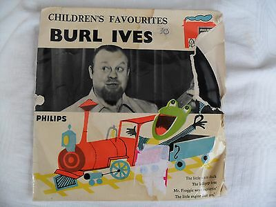 Burl Ives - Childrens Favourites EP - Philips BBE 12175