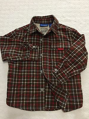 Little Boy Shirt. Size 24 Months. Genuine Kids by Osh Kosh Label. 100% Cotton