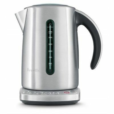 Breville 2400W 1.7Litre Stainless Steel the Smart Electric Kettle BKE825BSS