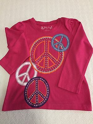 Long Sleeved Little Girl's Tee Shirt. Size 4. Total Girl Label