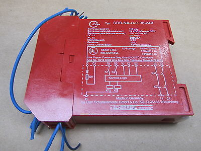 Elan Schmersal Srb-Na-R-C.36-24V Safety Relay