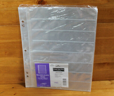 NEW Hallmark AR1027 Negative Sleeve Pages - 8 Pages, NO POSTS