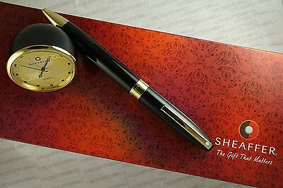 Sheaffer Made in the USA Legacy with Gold appointments Ball Pen and Gold Desk in
