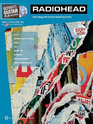 Radiohead - Ultimate Guitar Play-Along Music Book with 2 CDs