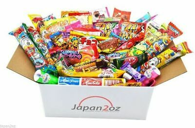 50 PIECE JAPANESE CANDY SET Gummy Ramune Ramen Jelly Chips Sweets Christmas -2