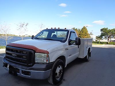 2005 ford f350 6.0 diesel utility service truck