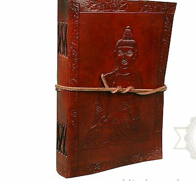Zap Impex Handmade Leather Diary Journal Notebook Hand embossed with Vintage 5