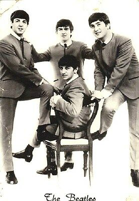 Beatles - Postcard 1964 - From the Netherlands