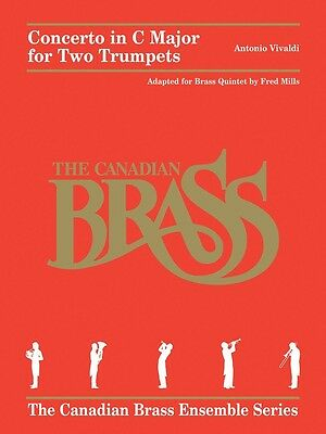 Concerto in C Major for Two Trumpets - The Canadian Brass - Music Book