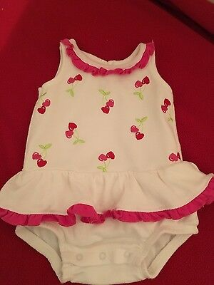 infant girls swim play suit by BabiesRUs sz 3/6 mos