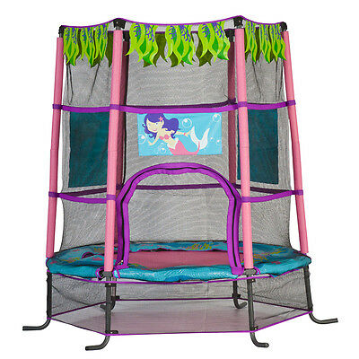 Action 4.5ft Trampoline Mermaid - NEW