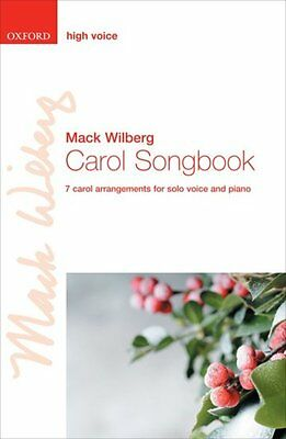Carol Songbook: High voice and Piano Music Book