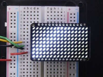 Adafruit LED Charlieplexed Matrix - 9x16 LEDs - White