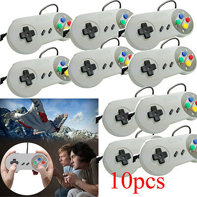 1/2/5/10 X Retro Super Nintendo SNES USB Controller Jopypads for Win PC/MAC AL