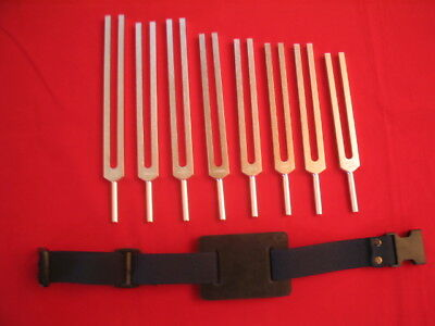 8 Chakras Tuning fork incl soul purpose+ Pro Activator