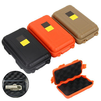 Durable Outdoor Sports Waterproof Plastic Storage Box Case Survival Carry Box ZY