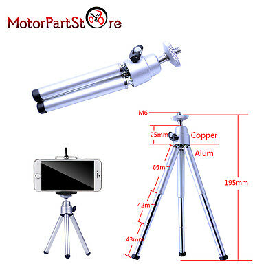 Rotatable Mini Tripod Stand Mount Holder For Camera Mobile Phone iPhone Samsung
