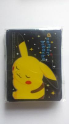 Pokemon Hüllen/japanese Sleeves 64 Stück Sleeping Nemuri Pikachu NEU&OVP