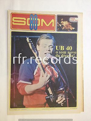 Som80 Portugal newspaper UB40, Neil Young, King Crimson, Maria Bethânia