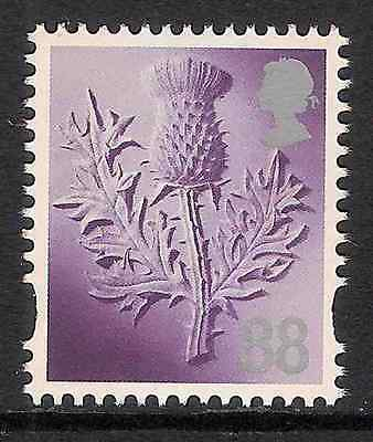 GB QEII MNH STAMP Scotland 88p Scottish Thistle Regional Definitive