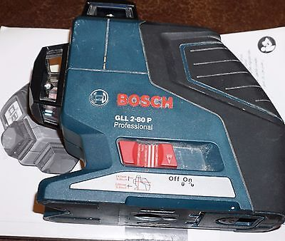 Bosch Gll 2-80 P 360° Vertical And Horizontal Line Laser