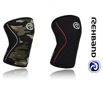 Rehband RX Line 7mm CrossFit Knee Support Reebok Bridges Weightlifting Strongman