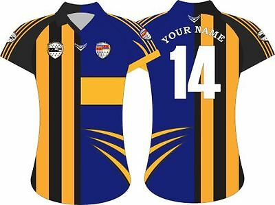 Adults half & half irish gaa county crested supporters jersey