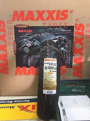 1 x 110/70 ZR17 Maxxis Supermaxx Tour M6029 54W Motorcycle 110 70 17 - ONE TYRE