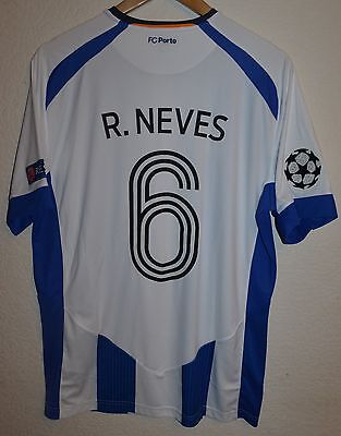 Player Issue Porto Portugal 2014/2015 Football Shirt Jersey Warrior #6 Neves