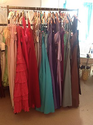 28 x assorted Morilee/eternity/romantica prom dresses end of season sale.
