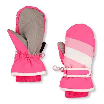 Tcp Baby Girl Water Resistant Thermolite Winter Ski Snow Mittens (Gloves) 4T-5T