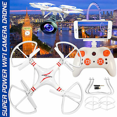 2.4G 4CH RC Explorers Quadcopter 6Axis Helicopter Drone with HD Camera RTF