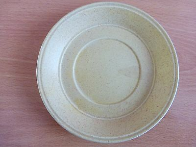 "Saucer suitable for a flower pot to stand on just over 6"" across."