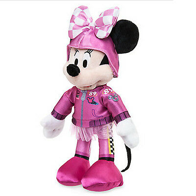 New Official Disney Mickey Mouse 26cm Minnie Mouse Roadster Racers Soft Plush To