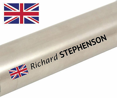 Personalised Named Flag Cycle Frame Cycling Helmet Bike Team Tour Sticker Decal