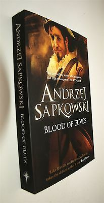 Blood of Elves Andrzej Sapkowski Book The Witcher Series Science Fantasy New
