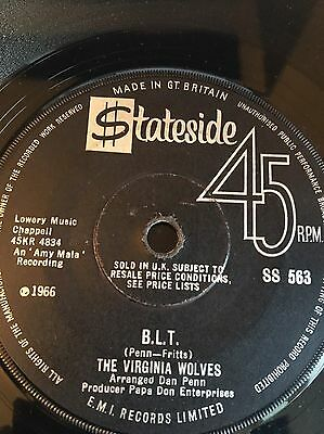The Virginia Wolves 'stay/b.l.t' Rare Northern Soul 60's Mod Rnb