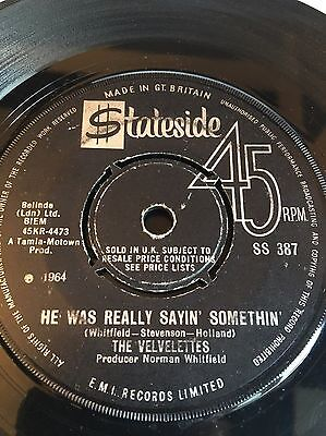 The Velvelettes 'he Was Really Sayin Somethin' Rare Northern Soul 60's Mod Rnb