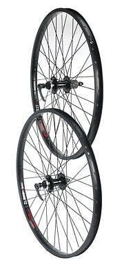 Tru-build Wheels 26 inch Rear DISC Wheel Jump Rim Black 8/9 speed Black 26 inch