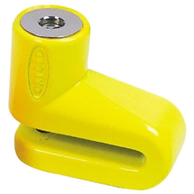 Oxford Motorbike Motorcycle Junior Disc Lock Yellow Scooter Security