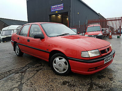 1995 N Vauxhall Cavalier 1.8 Ls Red Rare Saloon Low Miles Future Classic!