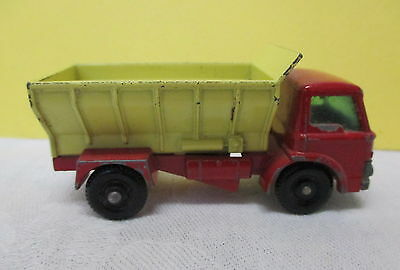 Matchbox Series No. 70 - Grit Spreading Truck    FORD  - Made in England