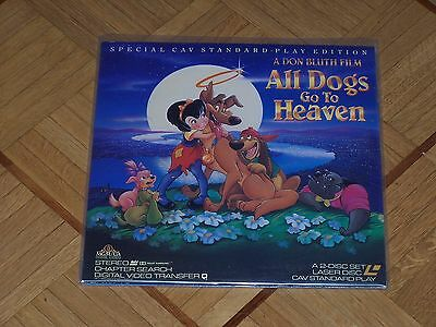 Laserdisc: All Dogs go to Heaven