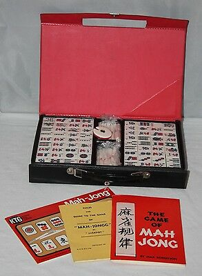 Nintendo Playing Card Co. Ltd - Vintage Cased Unused Mahjong Set - vgc